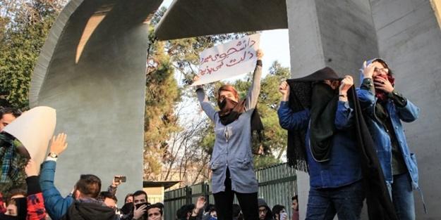 Trump'ın sözlerinin ardından İran'da gösterilerin seyri değişti