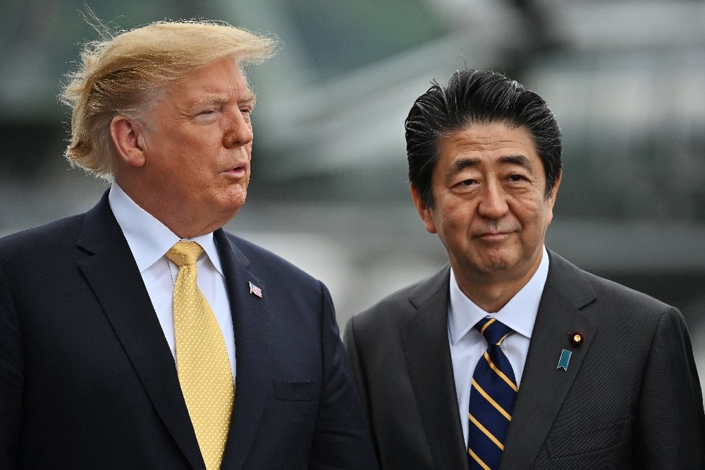 Trump'tan Abe'ye F-35 teşekkürü
