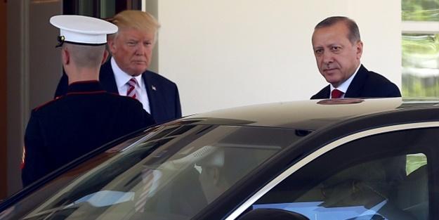 Trump'tan Erdoğan tweeti!