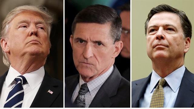 Trump'tan FBI'dan Flynn isteği