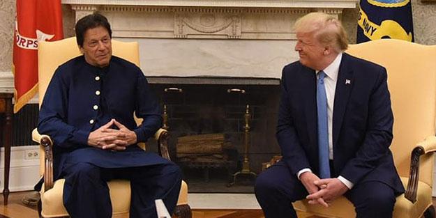 Trump'tan 'Keşmir' açıklaması: Yardım etmeye hazırım