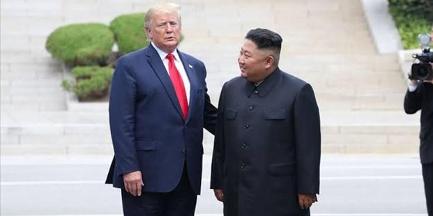Trump'tan Kim Jong-un'a olay benzetme: Ona