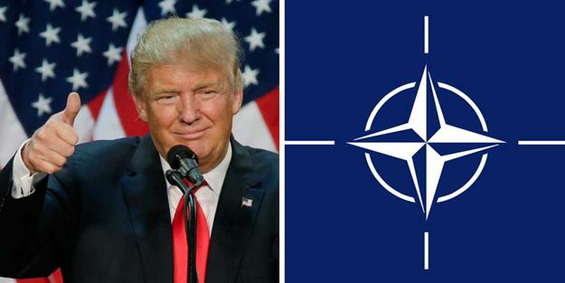 Trump'tan NATO'ya iş birliği taahhüdü