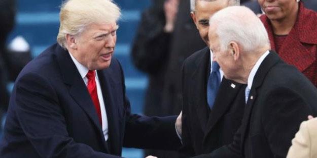 Trump'tan veda konuşması