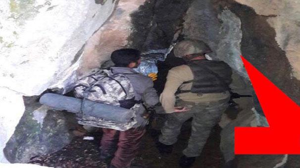 40 terörist öldürüldü! Mağaraya böyle girdiler...