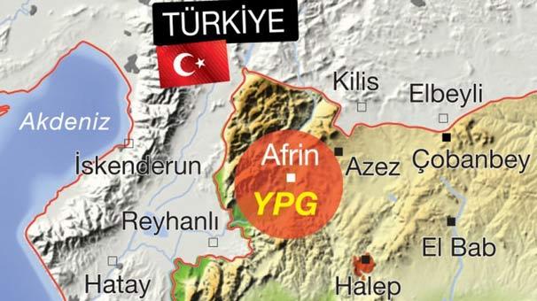 TSK, Afrin kuşatması için hazır durumda...