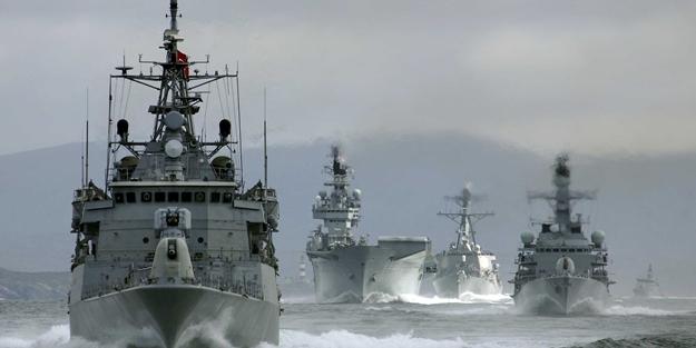 TSK harekete geçti...Akdeniz'de teyakkuz!