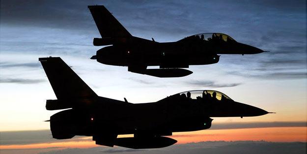 TSK o bölgeye uçuşları yoğunlaştırdı… Kritik savaş üçgeni
