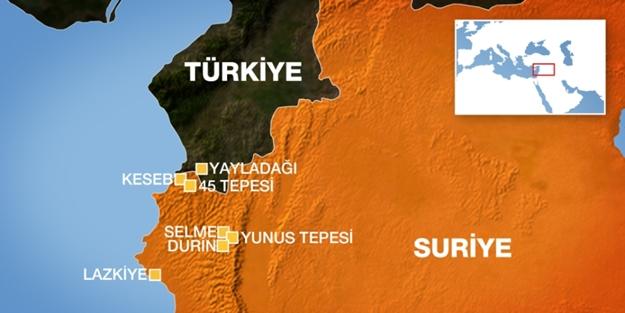 TSK, PYD'yi vurunca Türkmendağı'na saldırmaya başladı