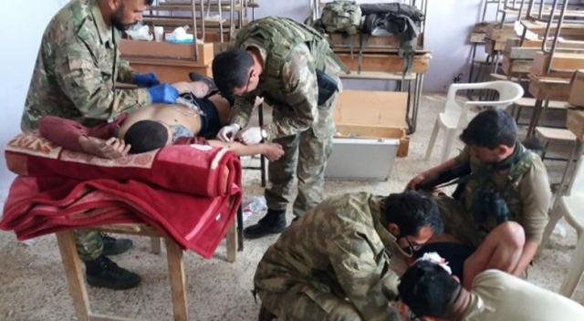 TSK'dan Afrin'e insani yardım eli