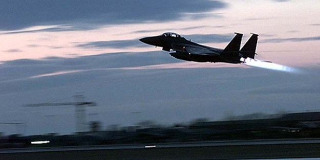 TSK'dan hava operasyonu! 4 hedef vuruldu..