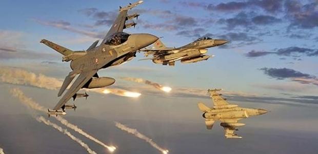 TSK'dan PKK'ya hava harekatı!