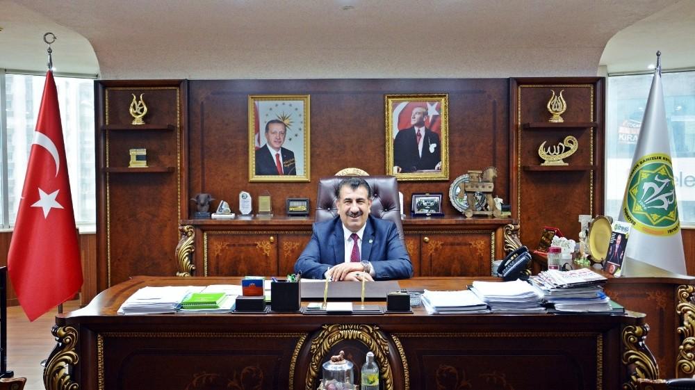 """TÜDKİYEB Genel Başkanı ÇeliK: """"Kuzu eti ye koronaya yenilme"""""""
