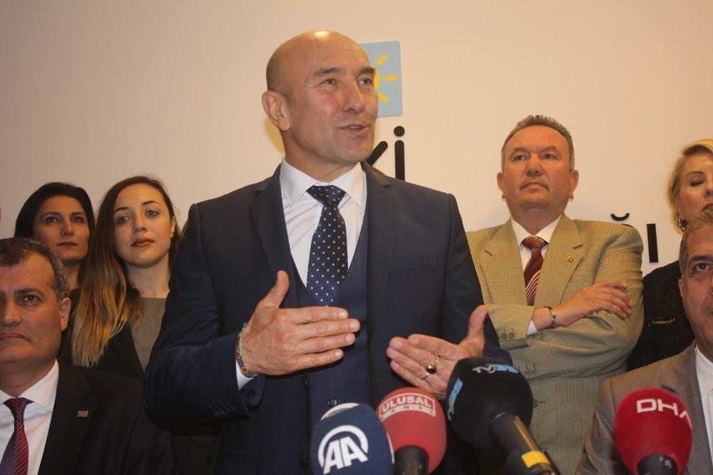 Tunç Soyer'den İYİ Parti İzmir'e ziyaret