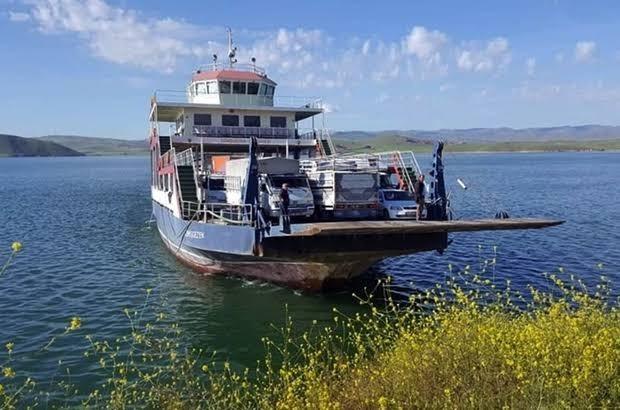Tunceli-Elazığ arası feribot seferlerine kısıtlama