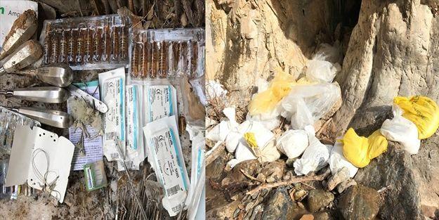 Tunceli'de 19 sığınak tespit edildi
