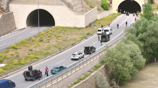 Tünelde askere tuzak: 1 şehit