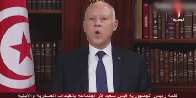Tunus'ta darbe! Cumhurbaşkanından skandal tehdit: Gücümüzü gösteririz!