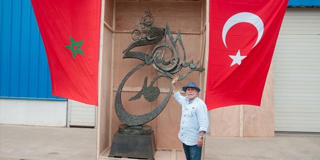 Tunuslu sanatçıdan Erdoğan'a hediye