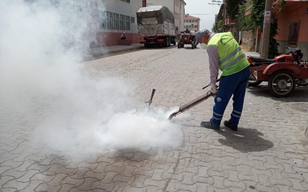 Turgutlu Belediyesi ekiplerinden dört günlük yoğun mesai