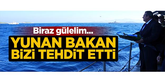 Yunan bakandan küstah sözler!