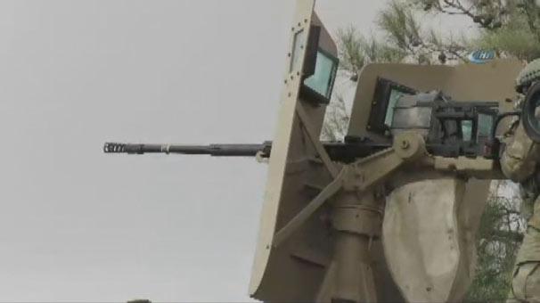 Türk askerleri YPG mevzilerini ele geçiriyor