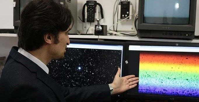 Türk astronom uzayda