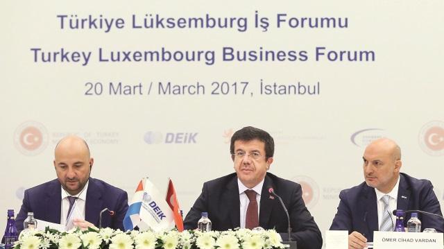 Türk bankalarını Lüksemburg'a çağırdı