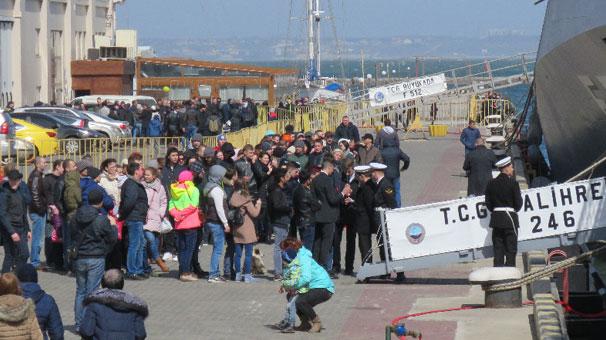 Türk donanmasına Karadeniz'de yoğun ilgi görüyor