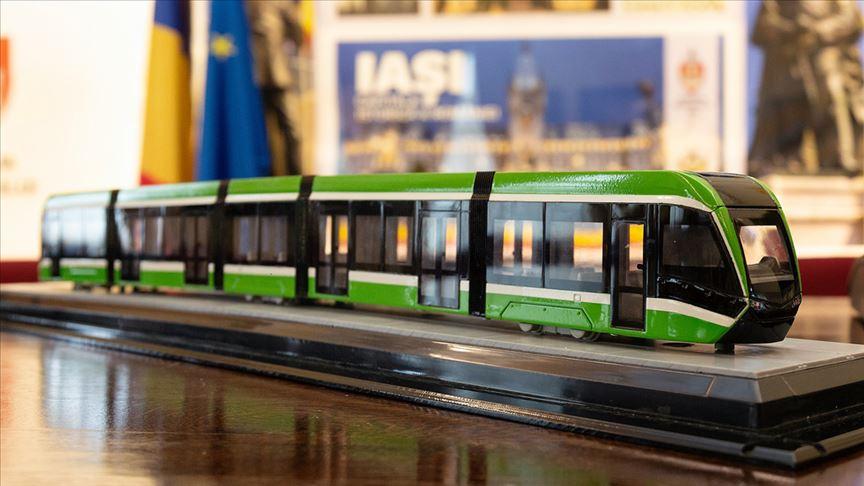 Türk firması Romanya'ya 30 milyon avroluk tramvay ihraç edecek