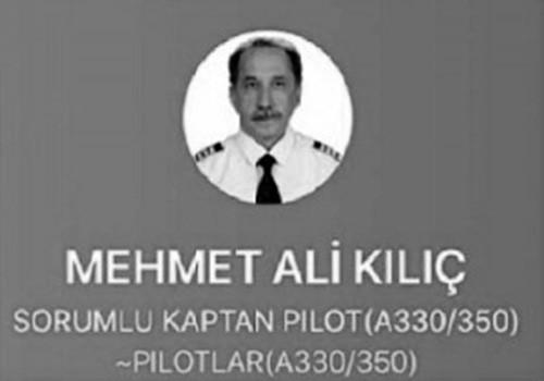 Türk Hava Yolları Kaptan Pilotu Korona virüs nedeniyle hayatını kaybetti