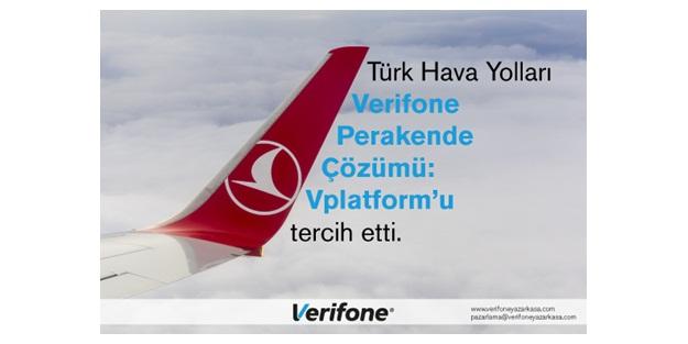 Türk Hava Yolları'nın Tercihi Yeniden Verifone Oldu