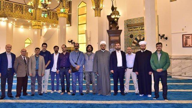 Türk heyeti Brezilya'da Müslüman toplum liderleriyle görüştü