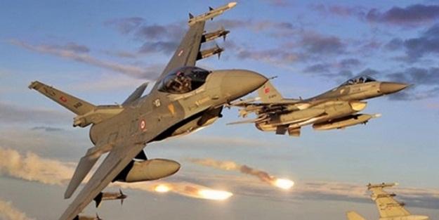 Türk jetleri DAEŞ hedeflerini vurdu
