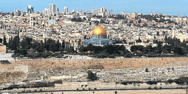 Türk kafile Kudüs'e girer girmez öyle bir şey oldu ki!