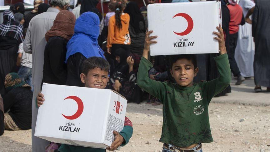 Türk Kızılay, Barış Pınarı Harekat bölgesindeki insanların yardımına koştu