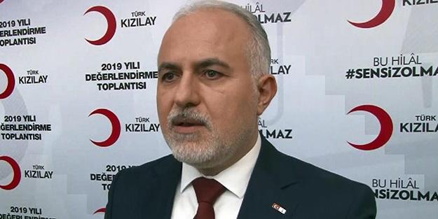 Türk Kızılay Genel Başkanı Kınık'tan önemli açıklamalar! 'Bunu yapmak suçtur. Vatandaşların duyarlı olmasını istiyorum.