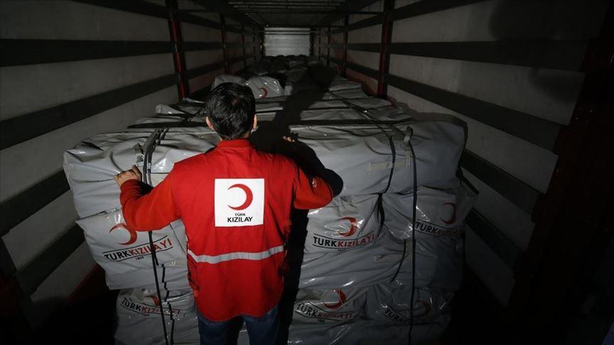 Türk Kızılay'dan Arnavutluk'taki depremzedeler için yardım kampanyası