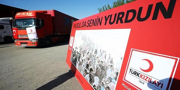 Türk Kızılay'ından Musul için kampanya