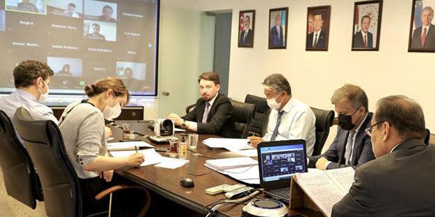 Türk Konseyi Yatırım Fonu toplantısı yapıldı