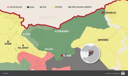 Türk ordusu DEAŞ'in kasasına darbe vurdu...