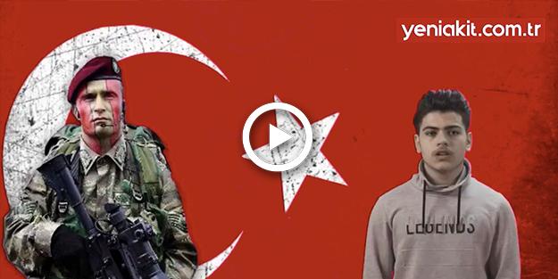 'Türk ordusu ülkeme güvenlik götürsün istiyorum'