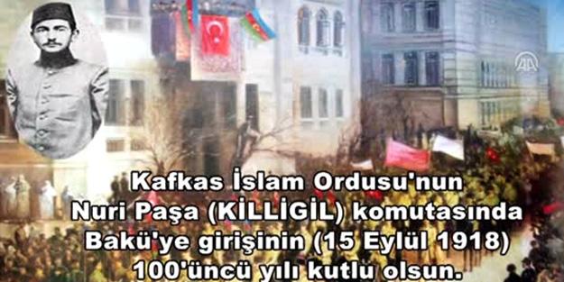 Türk Silahlı Kuvvetleri'nden Bakü mesajı