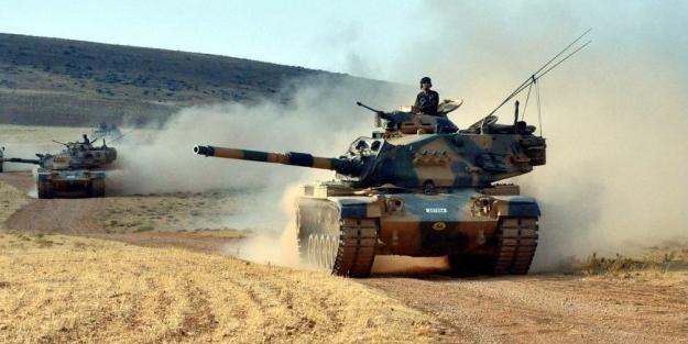 Türk tankları o bölgeye konuşlandı