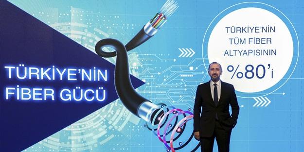 Türk Telekom Avrupa ülkelerini geride bıraktı fiberde 7,5 milyon kilometreye ulaştı