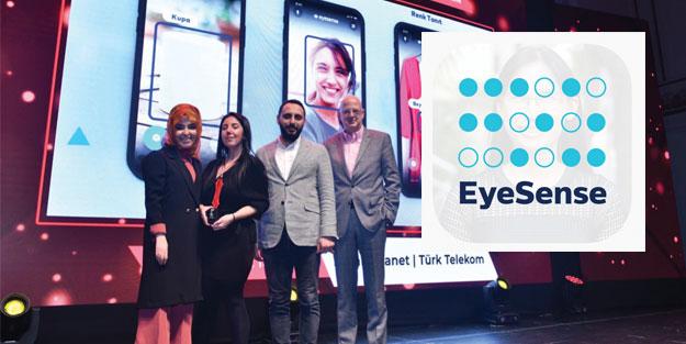 Türk Telekom'un EyeSense uygulamasına çifte ödül