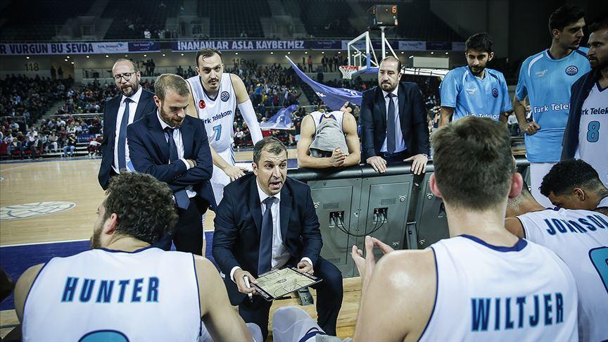 Türk Telekom'un önceliği Şampiyonlar Ligi'nde gruptan çıkmak