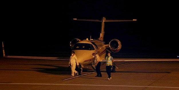 Türk vatandaşı Rusya'dan ambulans uçakla getirildi
