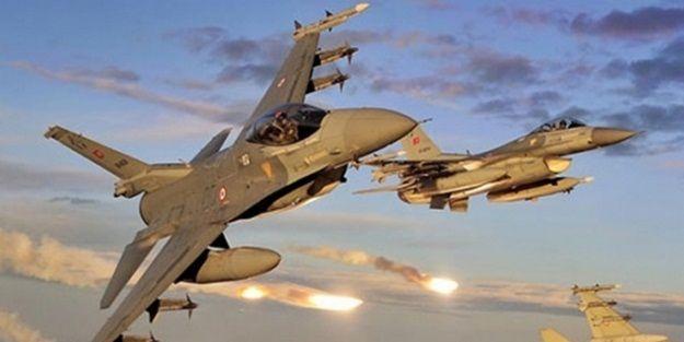 Türk ve Rus jetleri birlikte bombaladı