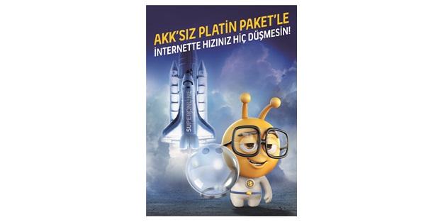 Turkcell Superonline'dan AKK'sız fiber internet paketi